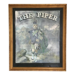 Framed Authentic English Pub Sign