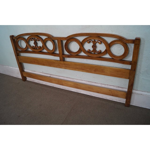 Widdicomb French Style King Size Headboard - Image 7 of 10