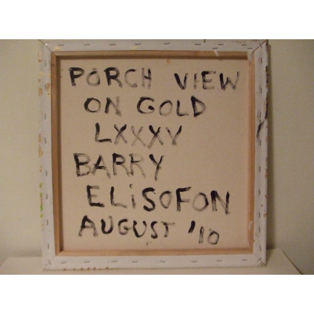"""""""Porch View on Gold"""" by Barry Elisofon - Image 4 of 4"""