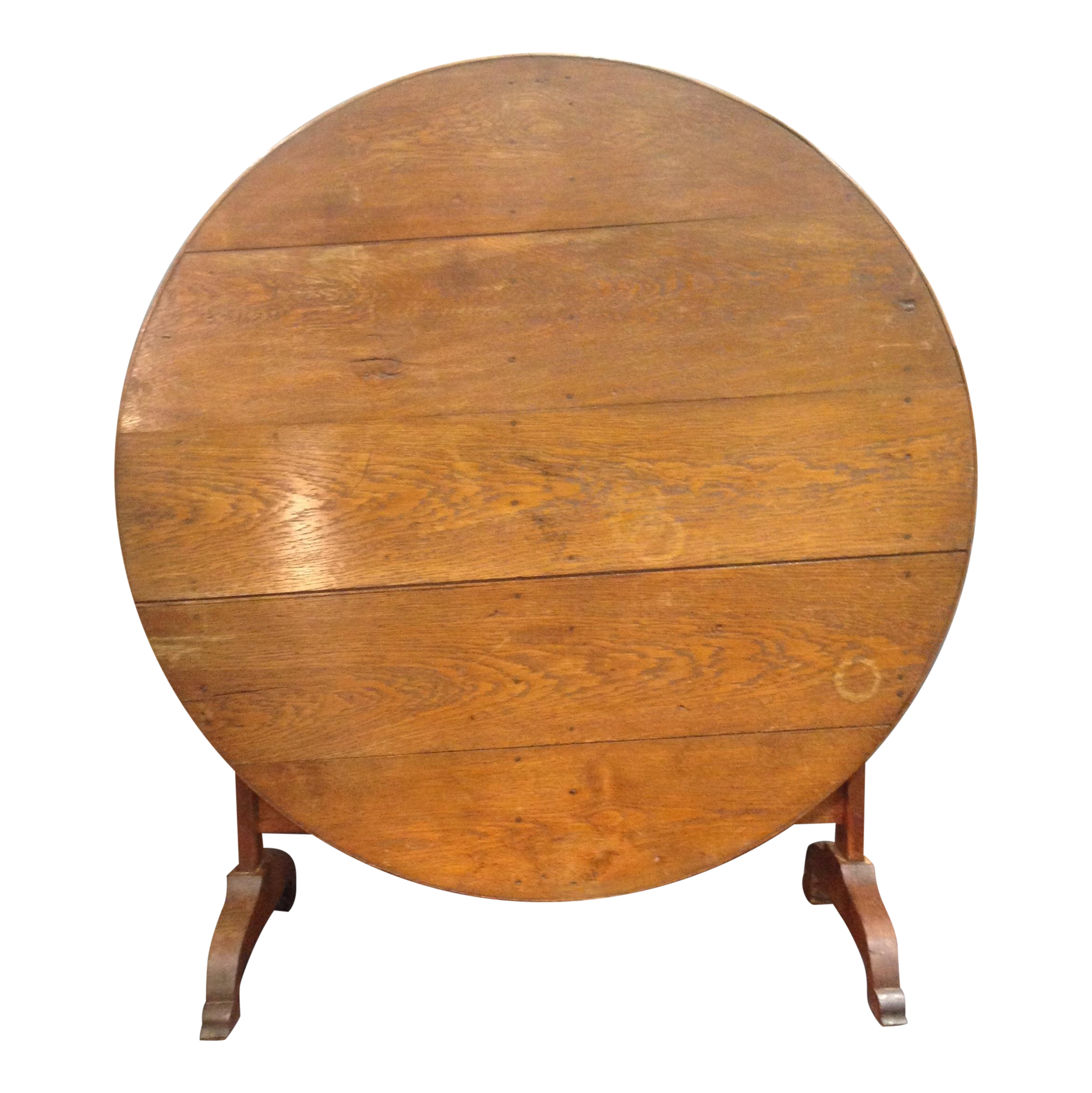 antique french country oak wine tasting table