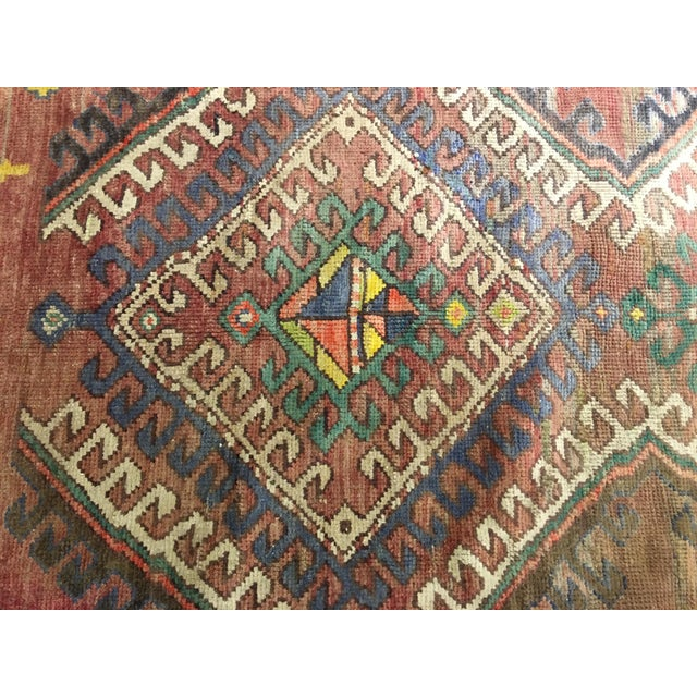 "Vintage Bellwether Rugs Turkish Oushak Rug - 5' x 9'3"" - Image 6 of 10"