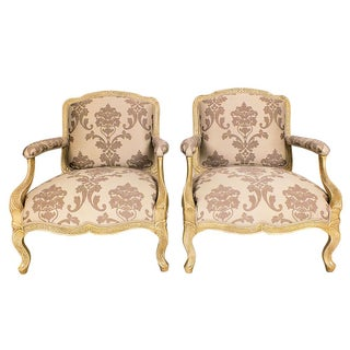 1960s Vintage French Style Armchairs