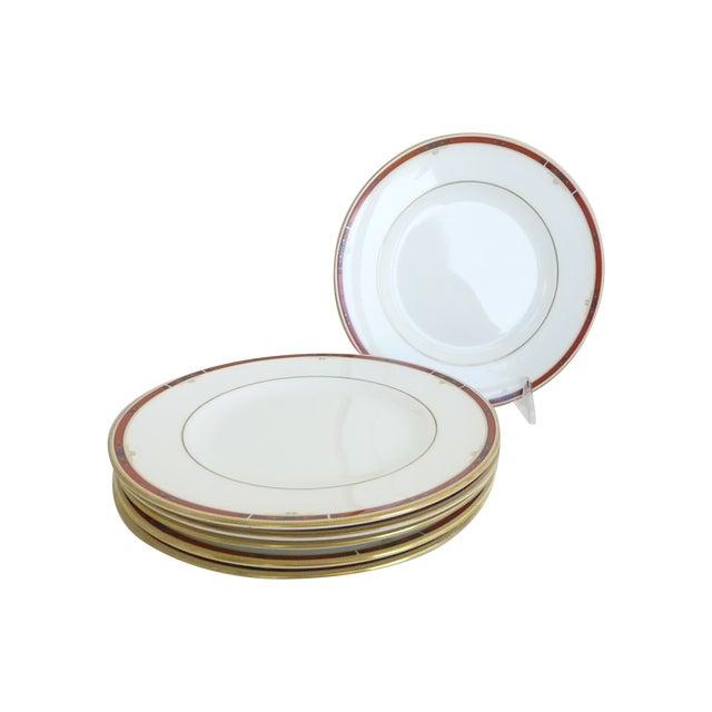 "Wedgwood ""Colorado Gold"" Salad Plates - Set of 6 - Image 1 of 5"