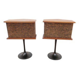 Mid-Century Bose Speakers on Tulip Bases - A Pair