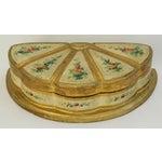 Image of 1940s Italian Florentine Jewelry Box