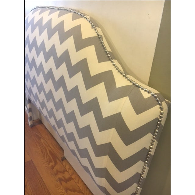 Queen Size Upholstered Headboard - Image 4 of 6