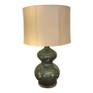 John Richard Green-Blue Lamp