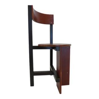 """Constructivist """"Bastille"""" Chair by Piet Blom"""
