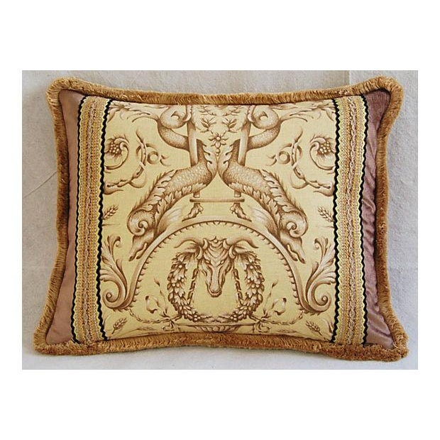 Designer Braemore Mythical Creature Accent Pillow - Image 7 of 7