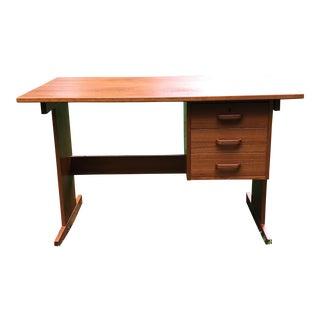 Vintage Danish Modern Teak Desk