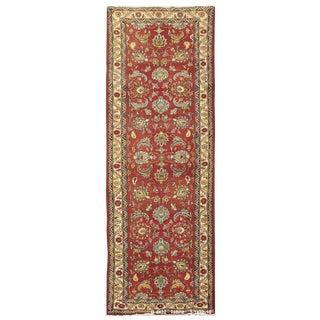Vintage Persian Tabriz Rug - 3'1'' x 10'10''