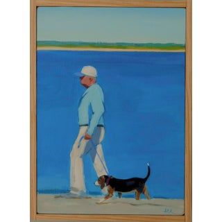 """ Morning Walk"" Painting by Anne Carrozza Remick"