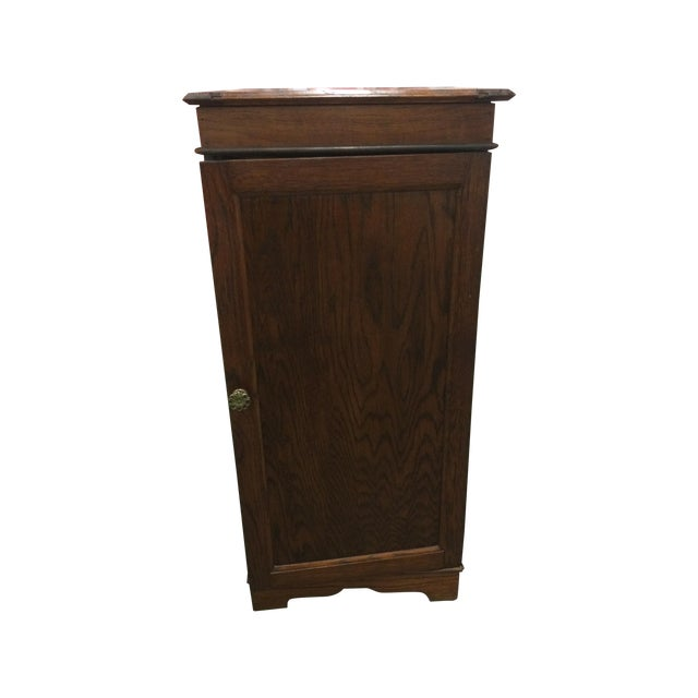 Image of Antique Wash Basin Cabinet