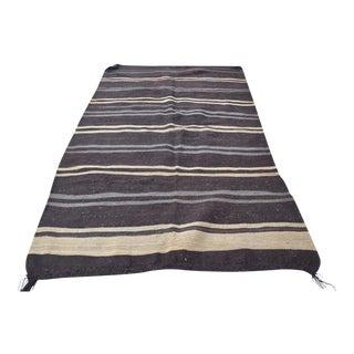 Turkish Striped Kilim Rug