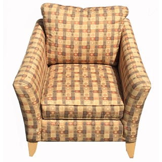 Beige & Brown Craft Master Club Chair