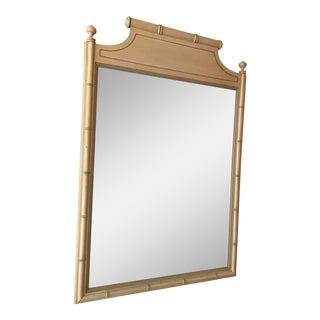 Regency Style Faux Bamboo Mirror