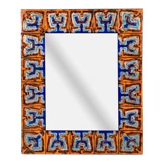 Bodil Eje Enameled Copper Mirror