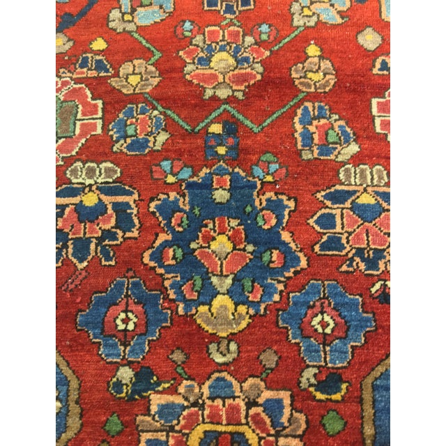 "Vintage Bellwether Rugs Persian Bactiari Area Rug - 6'9""x10'2"" - Image 7 of 11"