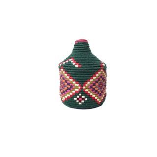 'Hunter Berry' Moroccan Woven Bread Basket