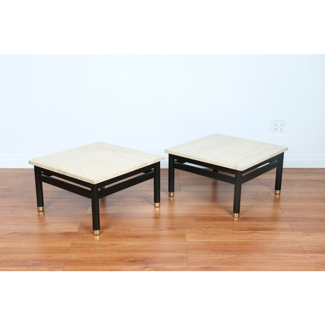 Lacquered Side Tables - A Pair - Image 10 of 11