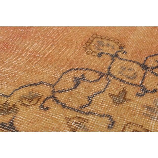 """Image of Pastel Vintage Turkish Overdyed Rug - 4'11"""" X 9'"""