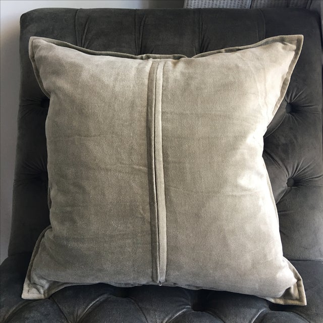 Luxury Silk Throw Pillows : Luxury Silk Blockprinted Decorative Pillow Chairish