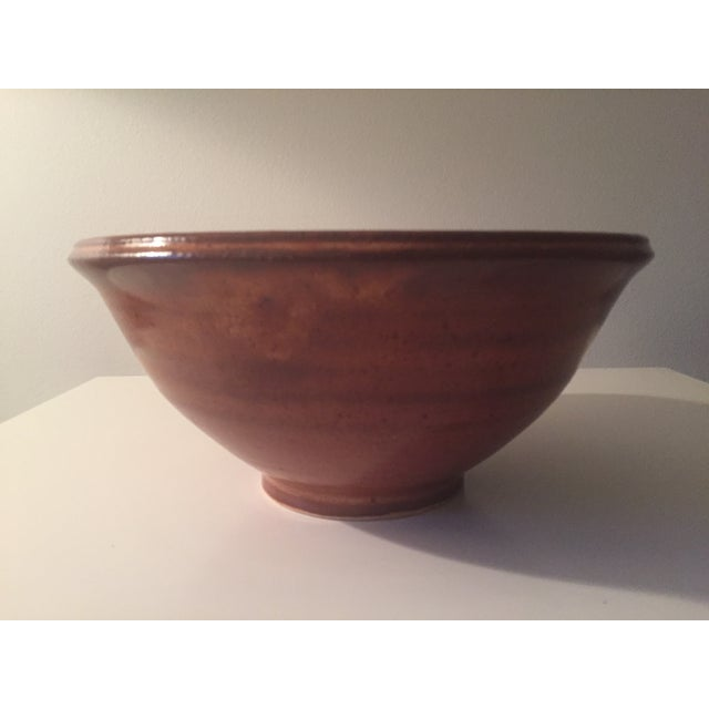 Studio Pottery Batter Bowl-Signed - Image 4 of 7