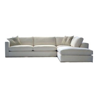 White Linen Rocco Sectional
