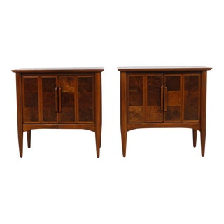 Heritage Walnut Nightstands - A Pair