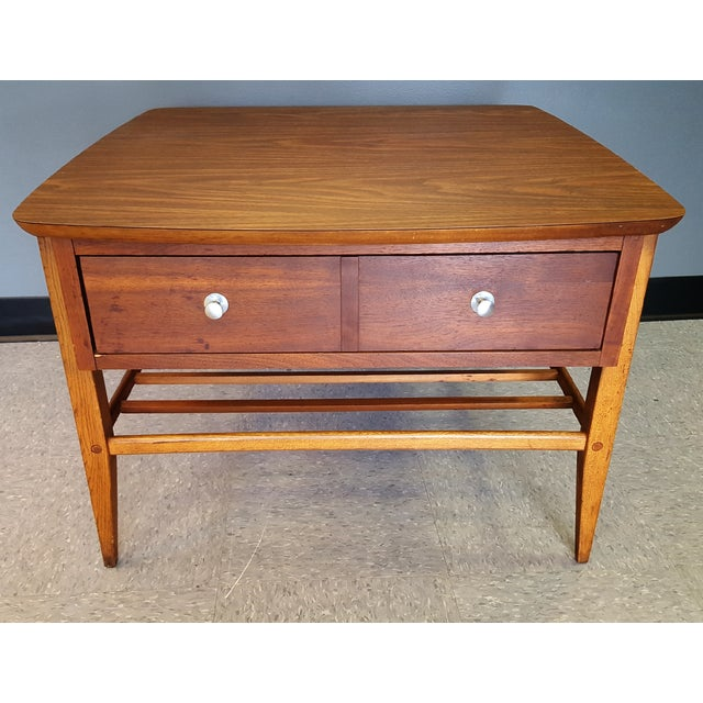 Mid-Century Lane Co. Single Drawer Side Table - Image 3 of 11
