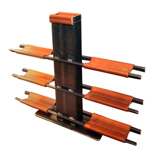 Frank Voznak Steel Wine Rack