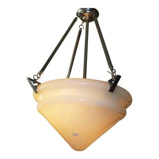 Alabaster Glass Hanging Lamps