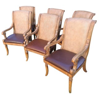 Mirador French Dining Armchairs - Set of 6