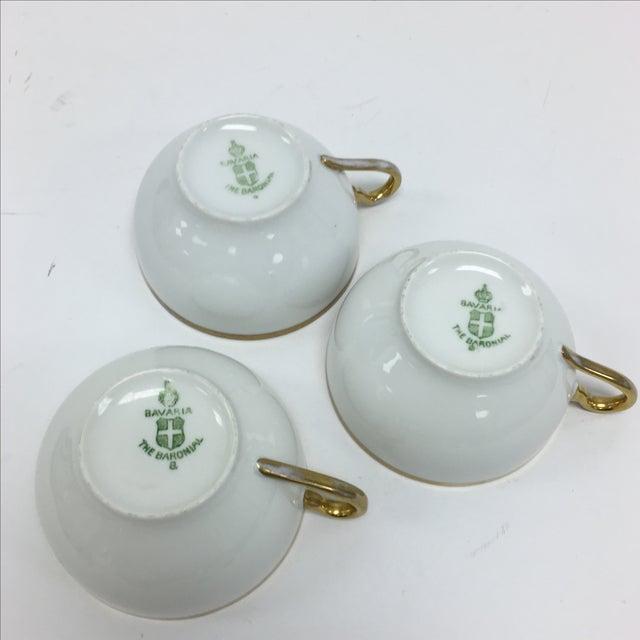 Image of Bavaria Tea Cups - Set of 3