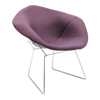 Vintage Knoll Bertoia Diamond Purple Chair