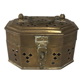 Brass Cricket Box