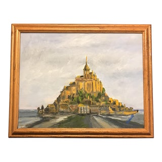 Mont St. Michel Painting