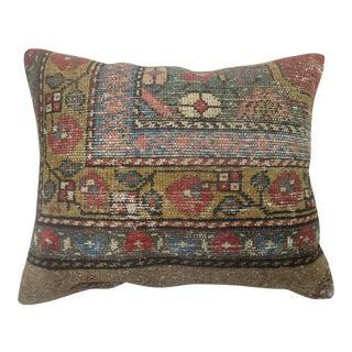 Antique Persian Serab Rug Pillow