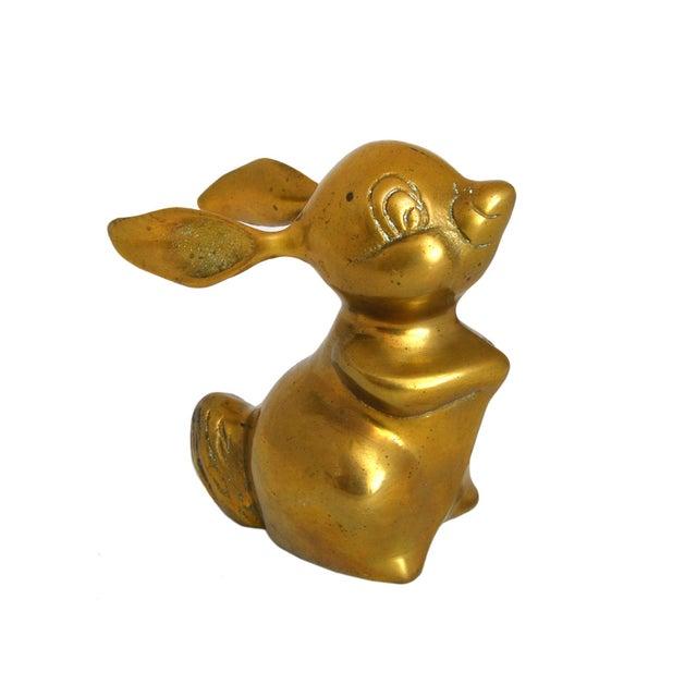 Image of Vintage Brass Rabbit