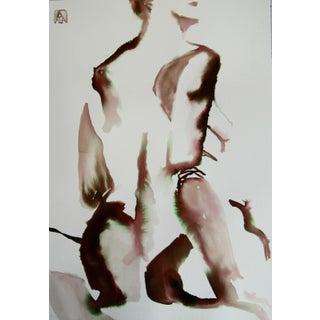 'Natural Woman' Watercolor