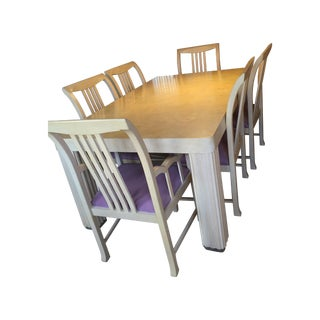 Hickory Furniture Maple Dining Set