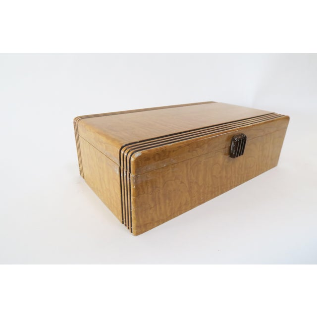 Vintage Decorative Wood Box - Image 5 of 7