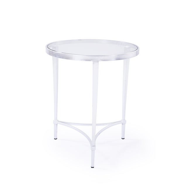Image of Spencer Silver Side Table