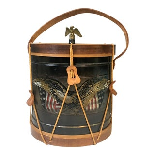 Noble and Cooley Old Drum Shop Replica Drum Ice Bucket