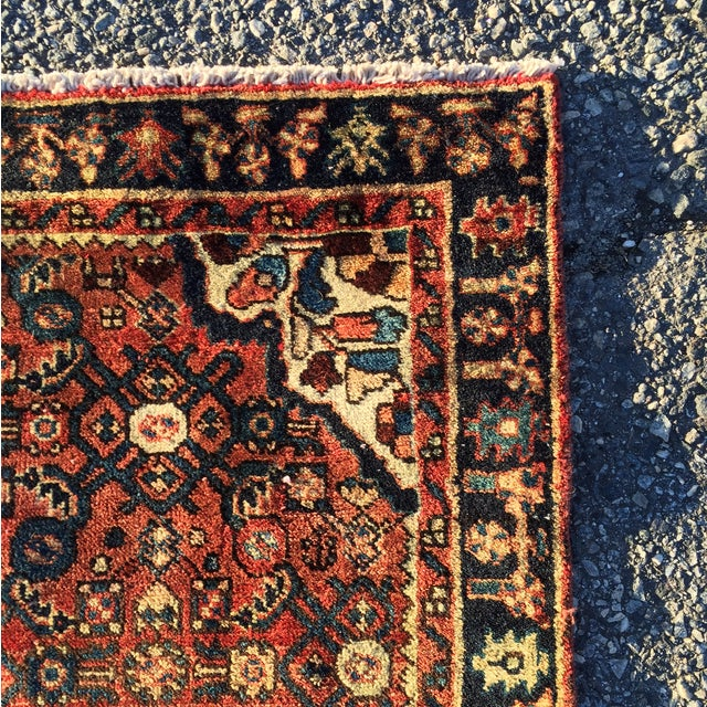 Hoseinabad Persian Rug - 3′ × 5′1″ - Image 9 of 10