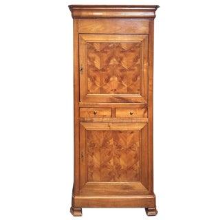 19th Century Maple Veneer Cupboard