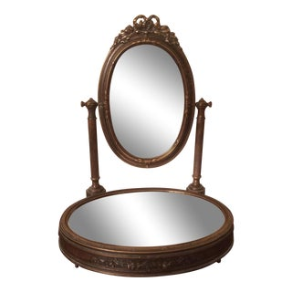 Italian Solid Brass Makeup Mirror