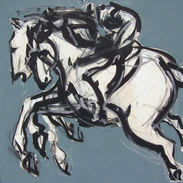 Polo Blue I Painting by Heidi Lanino - Image 1 of 2