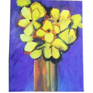 Abstract Floral Still Life