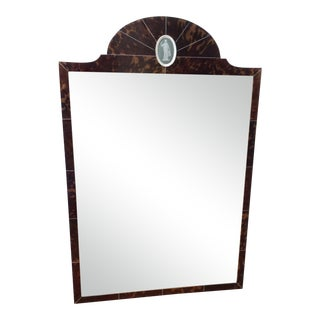 Edwardian Mirror With Wedgwood Plaque